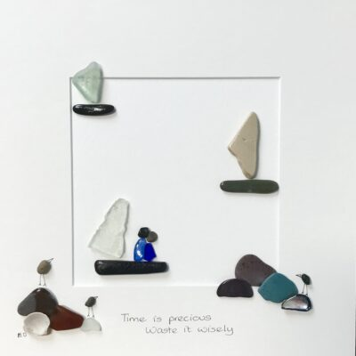 Michelle Owens Art Sea Glass Art sales from Skerries Ireland