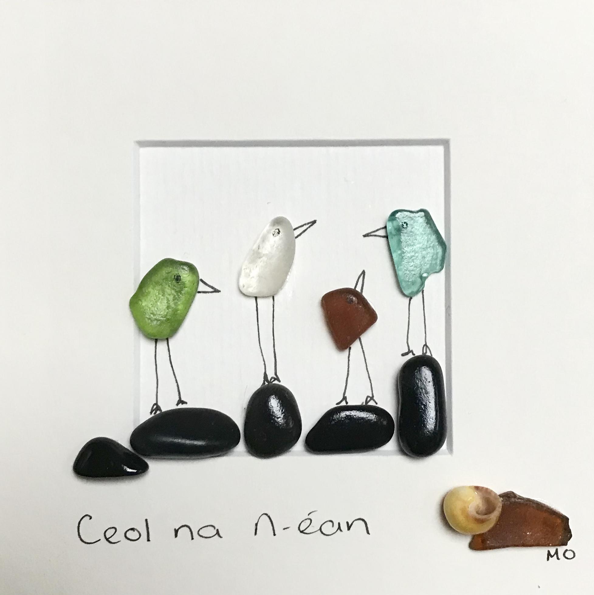Sea Glass Art Michelle Owens Art