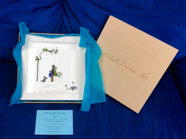 large gift box from michelle owens art skerries